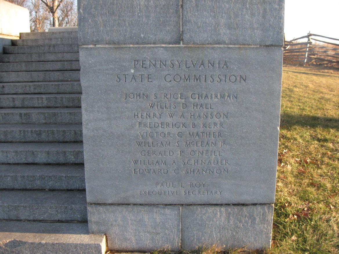List of Pennsylvania Commissioners