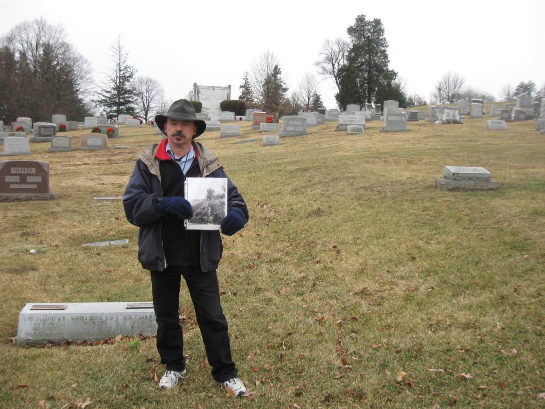 Rich Kohr in Everygreen Cemetery