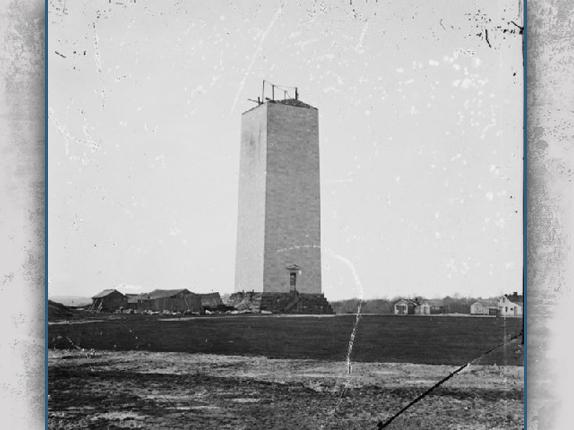 Washington Monument Civil War Drill Field And